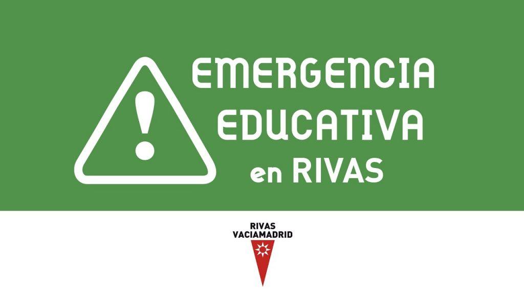 emergencia educativa, rivas vaciamadrid, colegios, comunidad de madrid, licencias