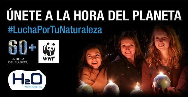 H2O te invita a sumarte desde casa a la Hora del Planeta este 28 de marzo