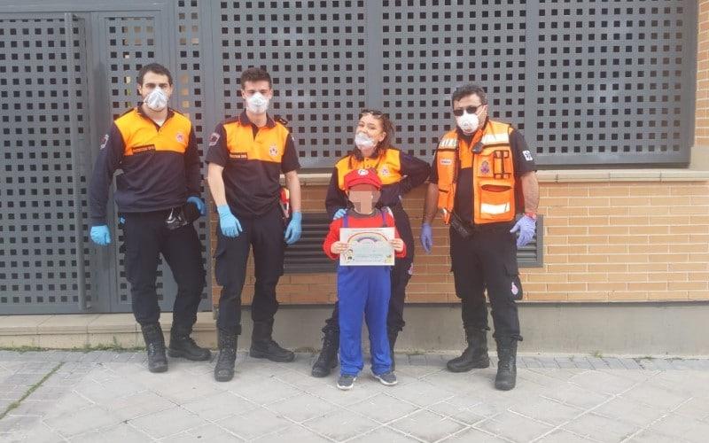 Cumpleaños Protección Civil Rivas