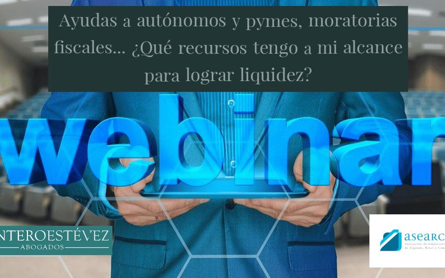 ASEARCO ofrece un webinar gratuito sobre recursos para dotar de liquidez a pymes y autónomos