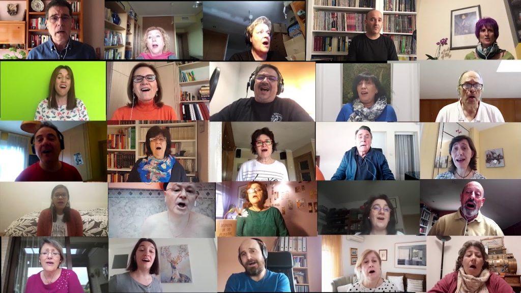 libre coro rivas video