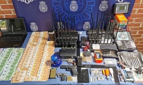 Detenidos siete butroneros acusados de robar en Rivas un lingote de oro valorado en 11.000 euros
