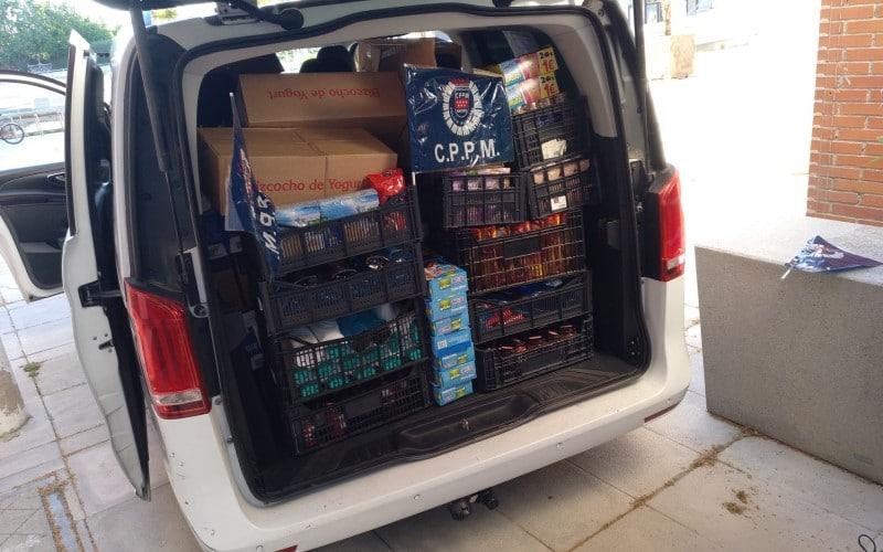 Donación de alimentos del sindicato CPPM a la RRAR (foto: CPPM)