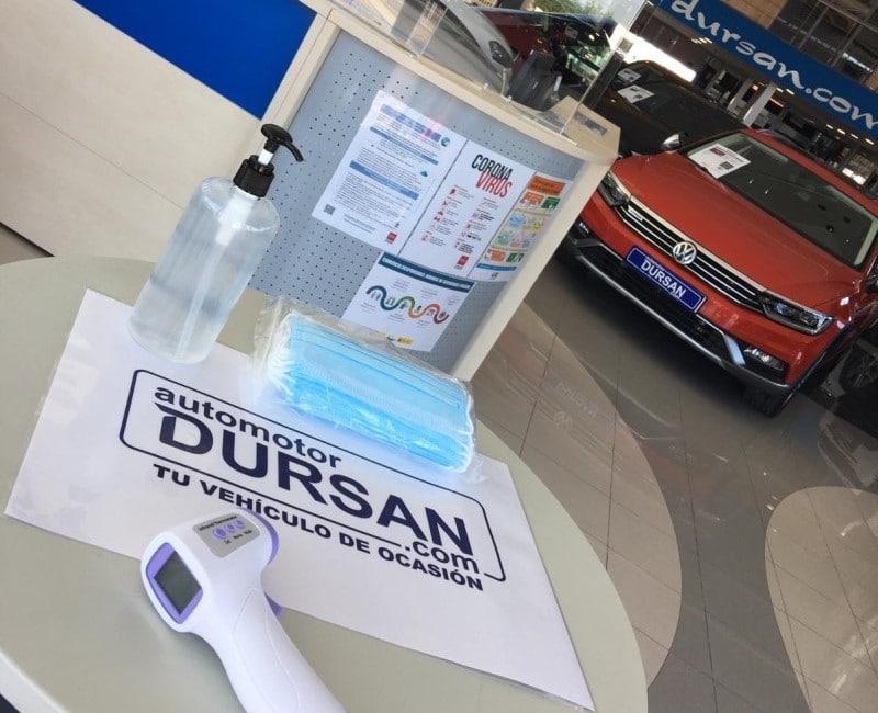 Automotor Dursan ha adoptado todas las medidas de seguridad frente a la Covid-19