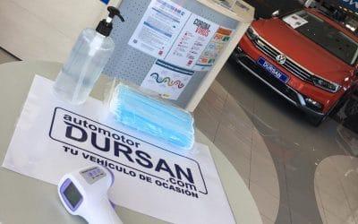 Automotor Dursan reabre sus instalaciones con condiciones inmejorables y todas las garantías de seguridad