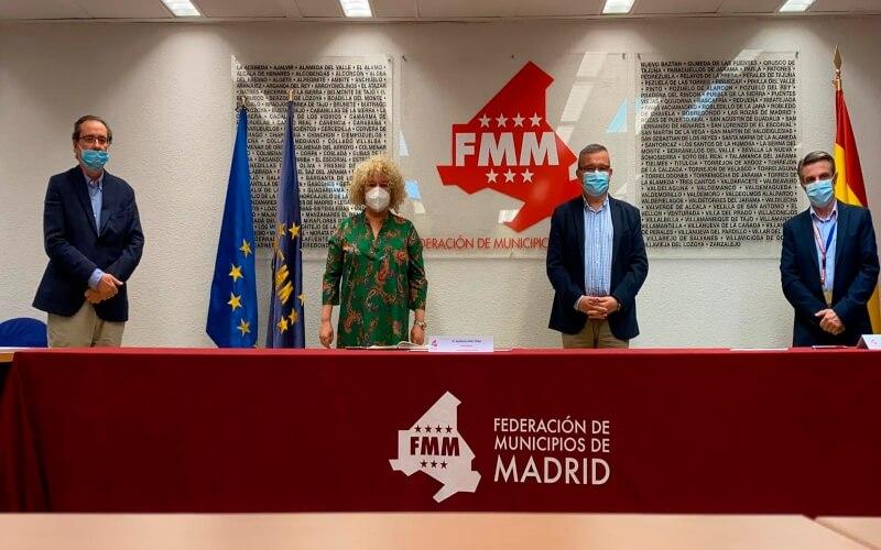 La Plataforma de Medios Locales se reúne con la Federación de Municipios de Madrid