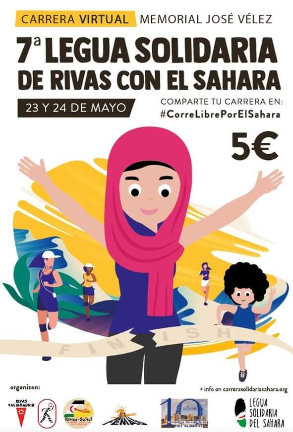 Legua solidaria por el sahara 2020