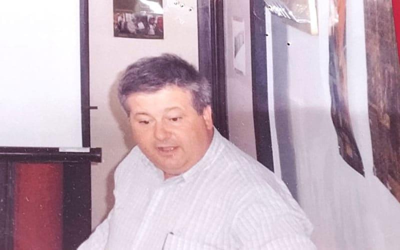 El profesor Julio Pérez