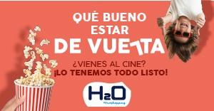 Este martes reabren los cines de H2O