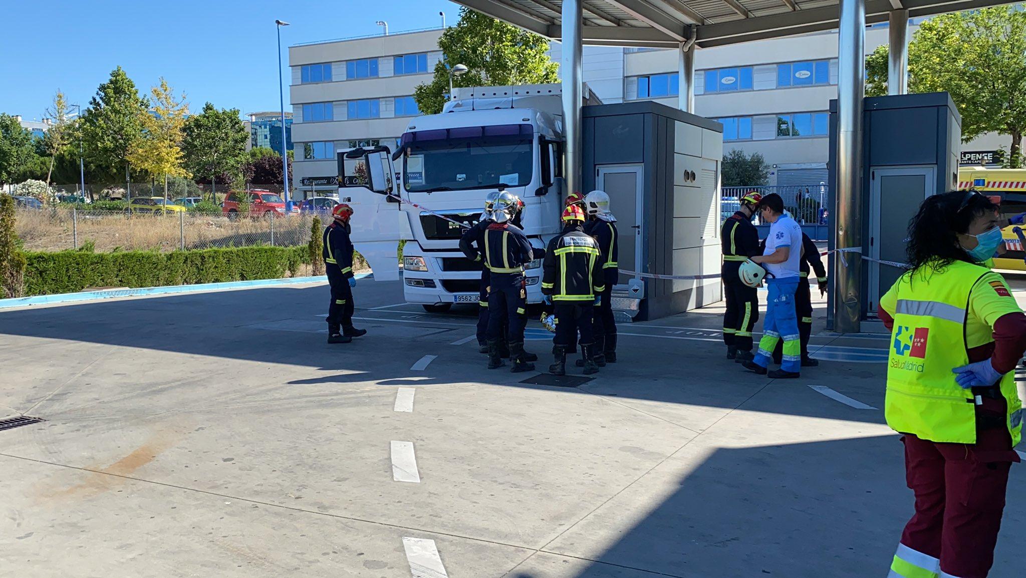 Fallece un camionero aplastado por su propio vehículo en la ITV de Rivas
