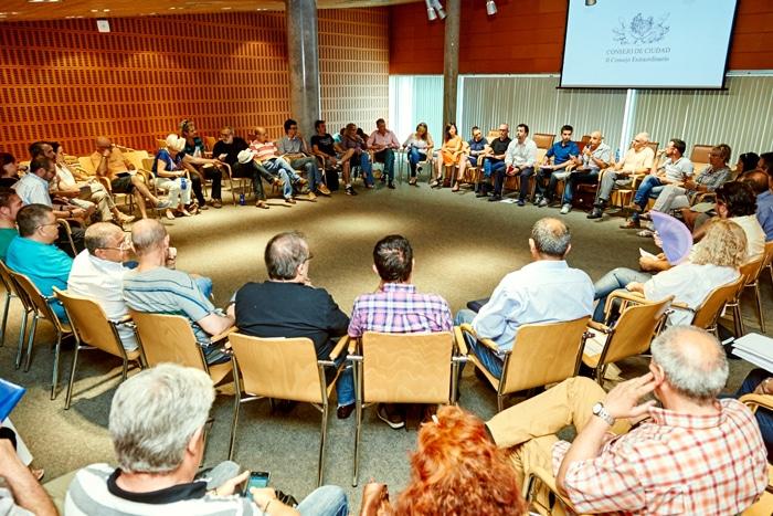 Reunión del Consejo de Ciudad, en una imagen de archivo