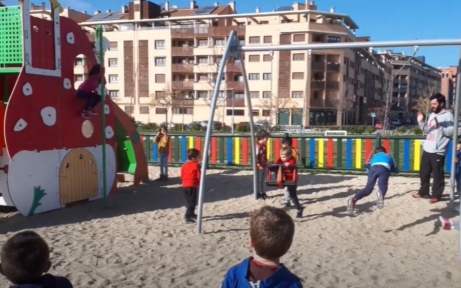 parque infantil hipatia