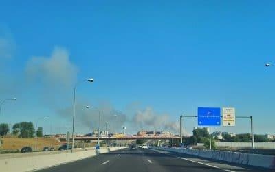 Más Madrid pide que se investiguen las causas del incendio del pasado domingo en Valdemingómez