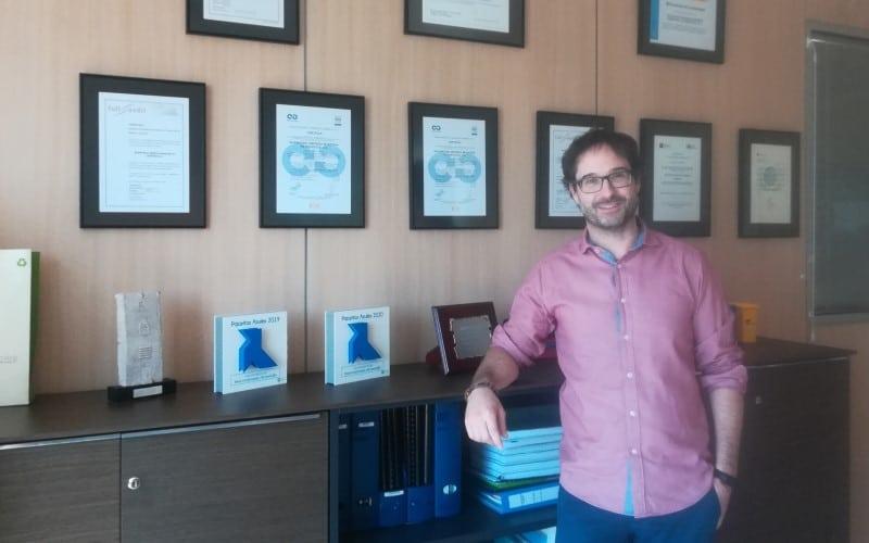 Jorge Rochet, gerente de Rivamadrid