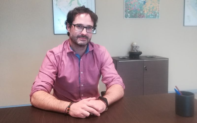 Jorge Rochet, gerente de Rivamadrid: «Vamos a contratar a más personal para poner la ciudad al día lo más rápido posible»