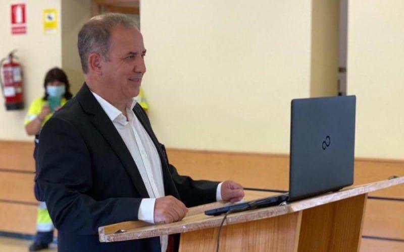 Luis Altares, concejales del PSOE, durante su toma de posesión