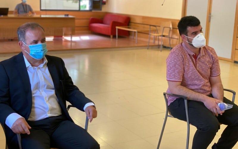 Luis Altares (PSOE) y Jorge Badorrey (Cs), nuevos concejales en el Ayuntamiento de Rivas