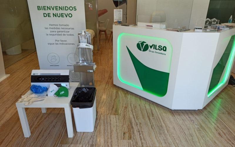 Vilsa, el centro comercial inmobiliario de Rivas y Arganda, retoma la actividad tras ' blindarse' contra la Covid-19