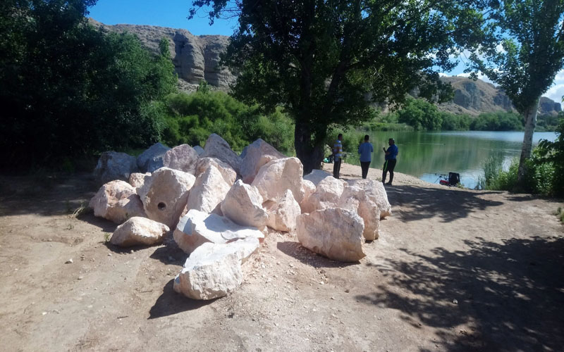 La Laguna del Campillo se remoza aprovechando el confinamiento