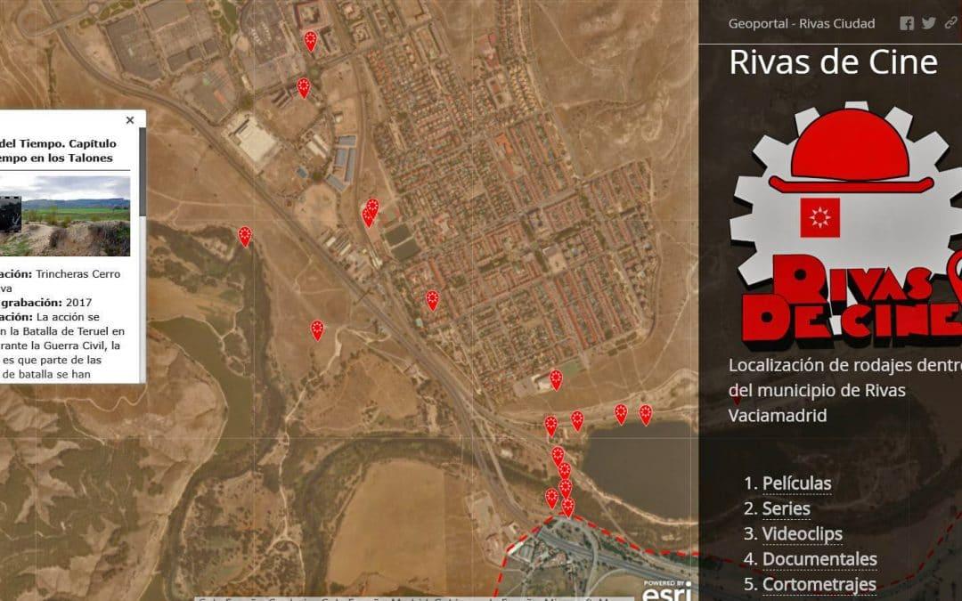 El 'mapa del cine' en Rivas: Cinelab invita a viajar a los escenarios ripenses de películas y series