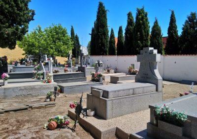 El cementerio de Rivas Vaciamadrid, en 2020