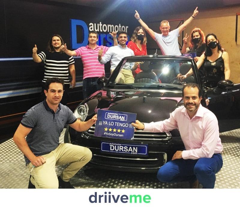 Automotor Dursan entrega vehículos a domicilio en colaboración con Driive