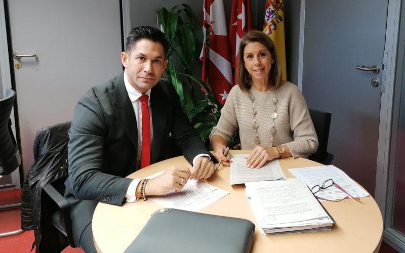 Francisco Gallardo y Janette Novo, concejales del PP en el Ayuntamiento de Rivas Vaciamadrid