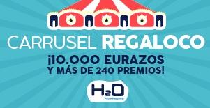 El centro comercial H2O sortea 10.000 euros en tarjetas regalo y 240 premios más en sus establecimientos