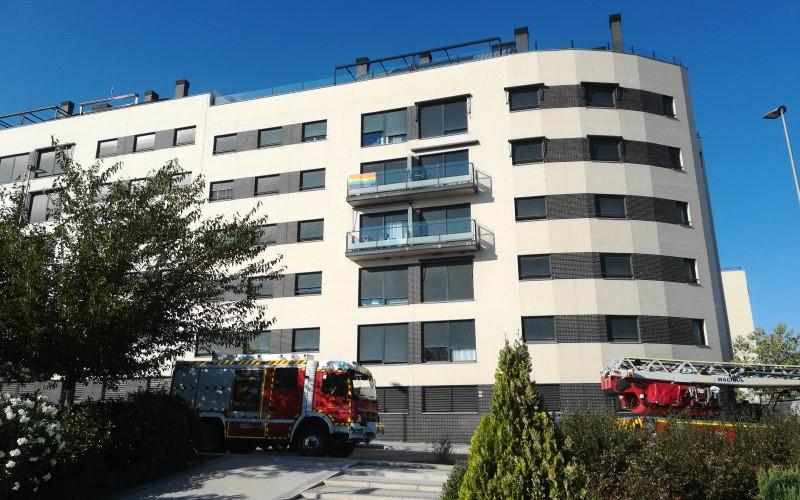 Los bomberos intervienen en dos pequeños incendios en Rivas