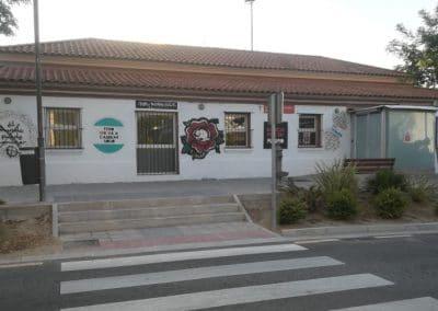 Pintadas nazis en la Casa de Asociaciones del Casco Urbano de Rivas