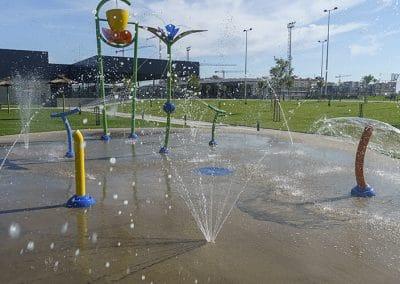 Zona infantil acuática del Centro Deportivo Supera Rivas La Luna (©Fernando Galán)