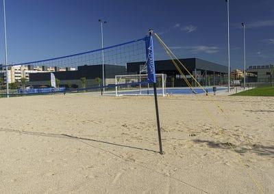 Campo de voley playa del Centro Deportivo Supera Rivas La Luna