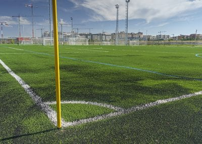 Campo de fútbol del Centro Deportivo Supera Rivas La Luna (©Fernando Galán)