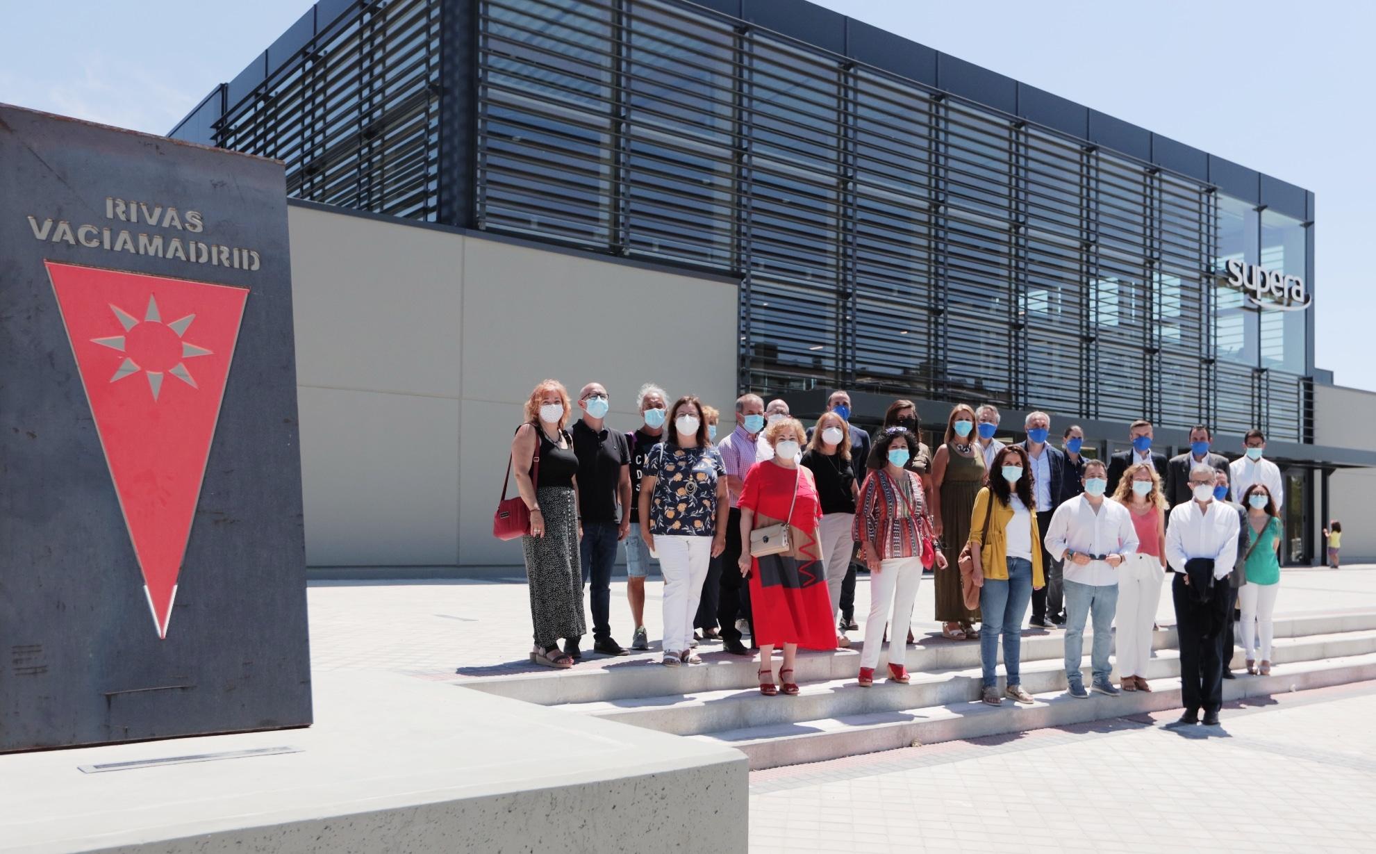 Inauguración del Centro Deportivo Supera Rivas La Luna (foto: Ayuntamiento de Rivas Vaciamadrid)