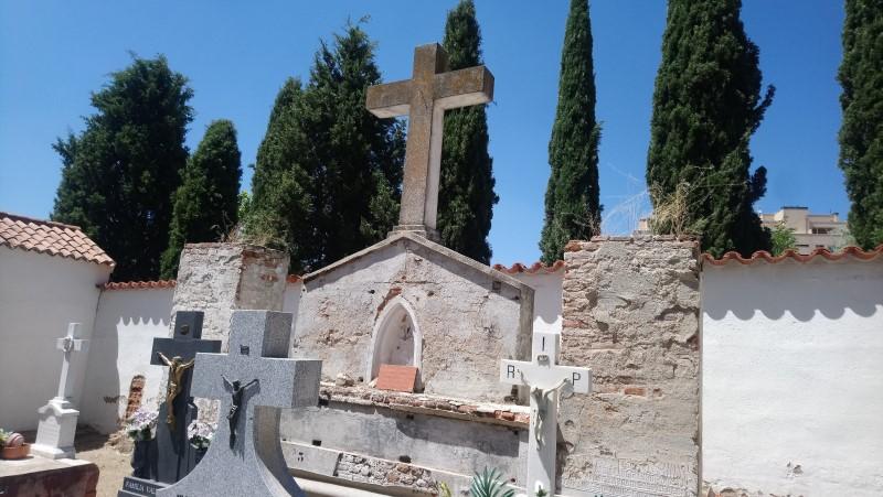 Templete de recuerdo a los ejecutados en la Guerra Civil en el cementerio de Rivas ©Diario de Rivas