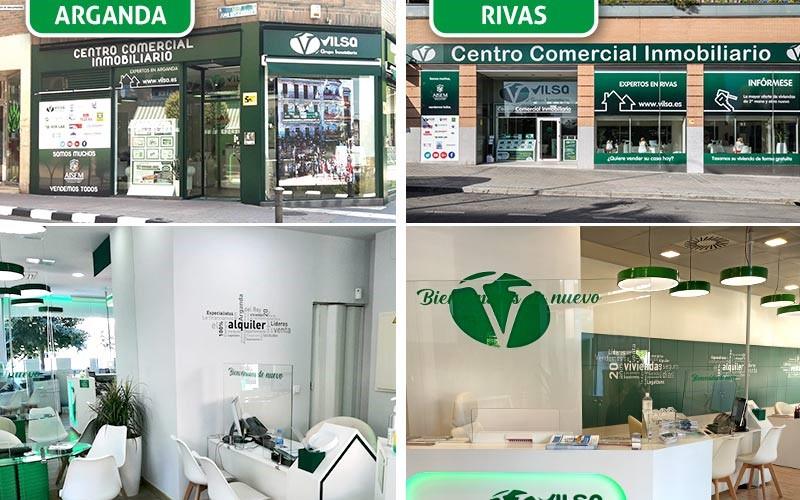 Diez razones para confiar la venta de tu vivienda a Vilsa, el mayor centro comercial inmobiliario de Rivas y Arganda