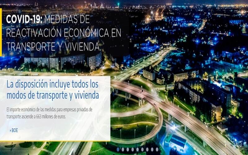 ASEARCO recoge las principales medidas de reactivación económica en transporte y vivienda