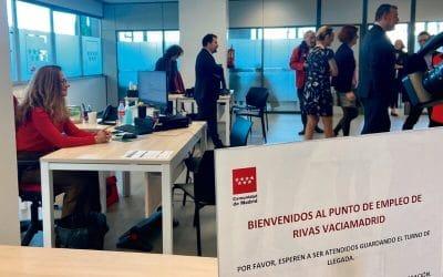 El Punto de Empleo de Rivas Vaciamadrid reabre presencialmente con cita previa
