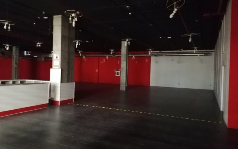 Locales adquiridos para la futura sede de la Escuela Municipal de Música de Rivas Vaciamadrid (foto: Ayuntamiento de Rivas Vaciamadrid)