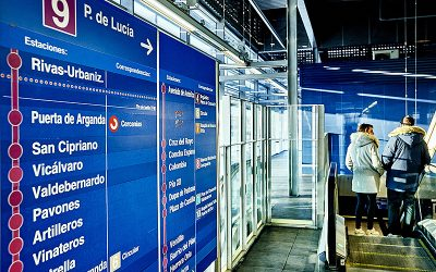 Cortada la línea 9 entre Puerta de Arganda y Rivas Vaciamadrid desde primera hora de este viernes