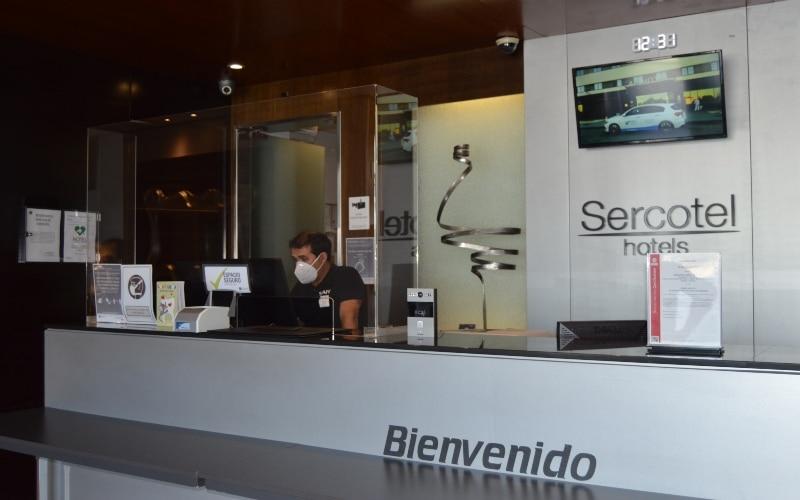El Hotel AB Rivas, certificado como espacio seguro por sus medidas frente a la Covid-19