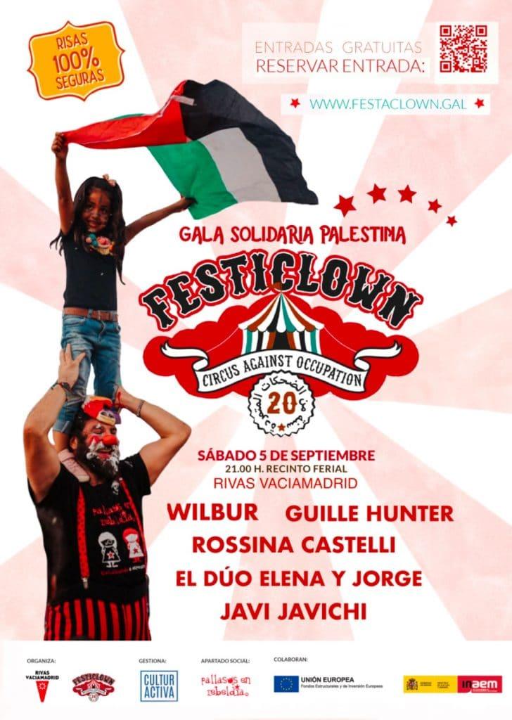Gala Festaclown Palestina Rivas 2020