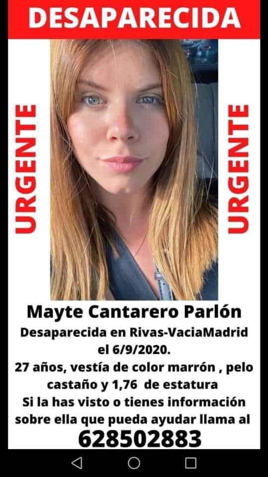 Desaparecida en Rivas Mayte Cantarero