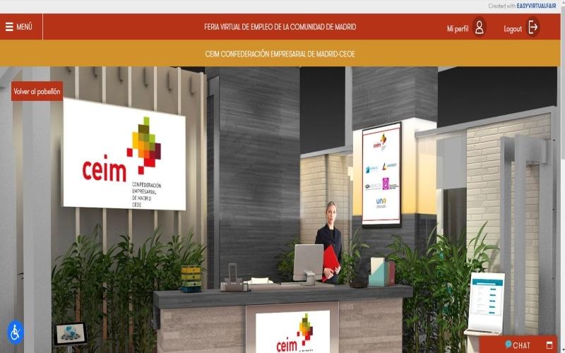 Participa en la Feria Virtual de Empleo de la Comunidad de Madrid, del 21 al 25 de septiembre
