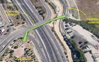 Rivas 'resucita' el proyecto de la pasarela peatonal y ciclista sobre la A-3