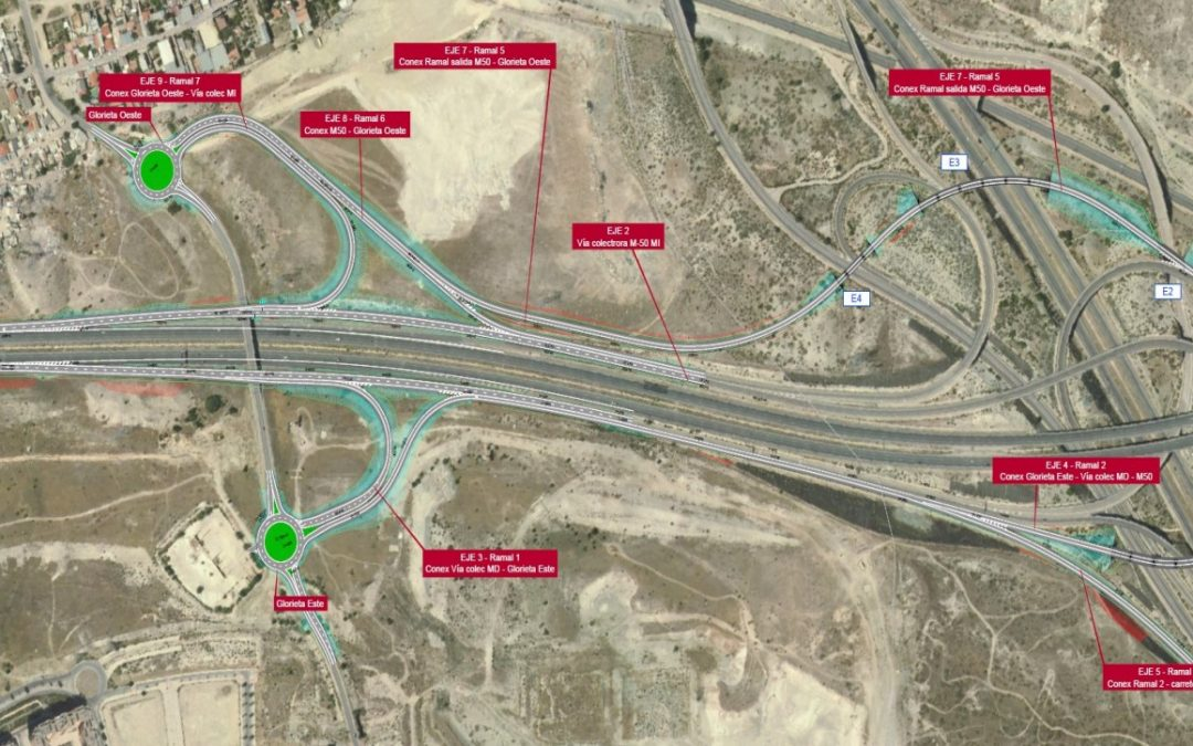 El enlace de Rivas con la M-50 costará 12,3 millones de euros, según el proyecto de trazado