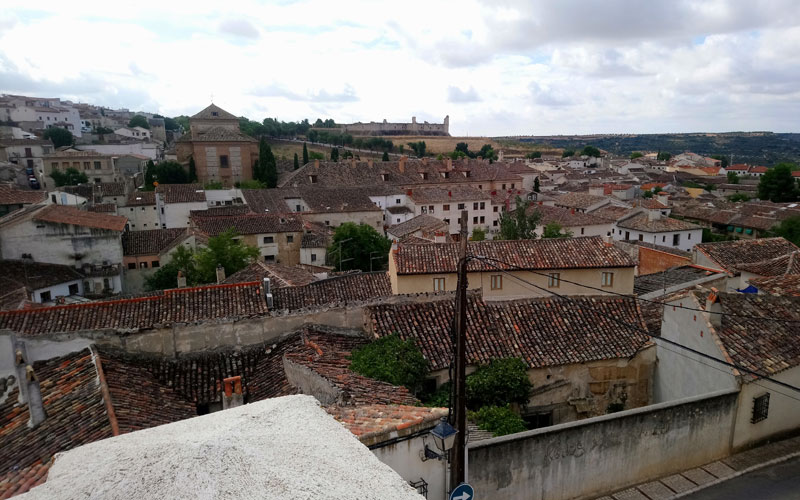 Vista Chinchón castillo