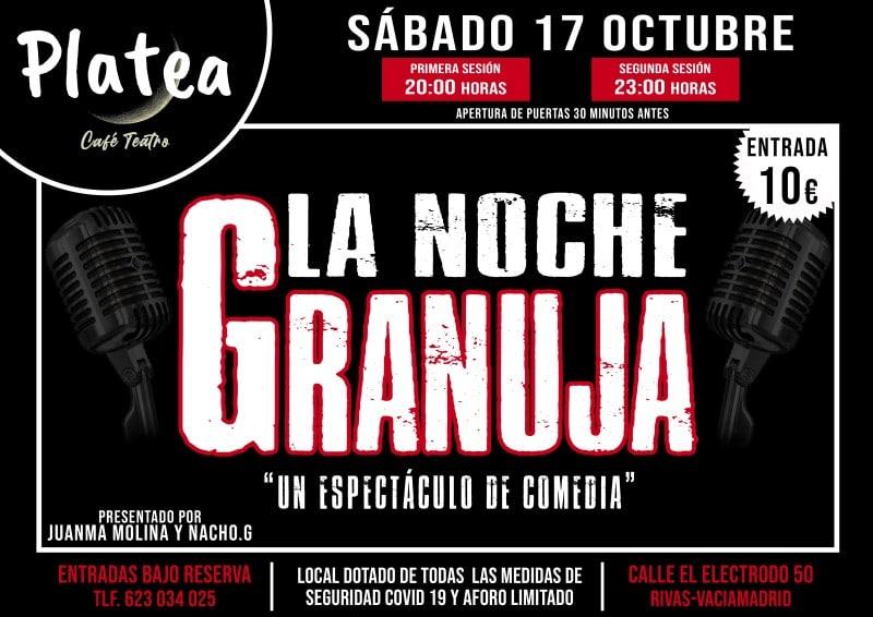La Noche Granuja: humor en Platea Café Teatro