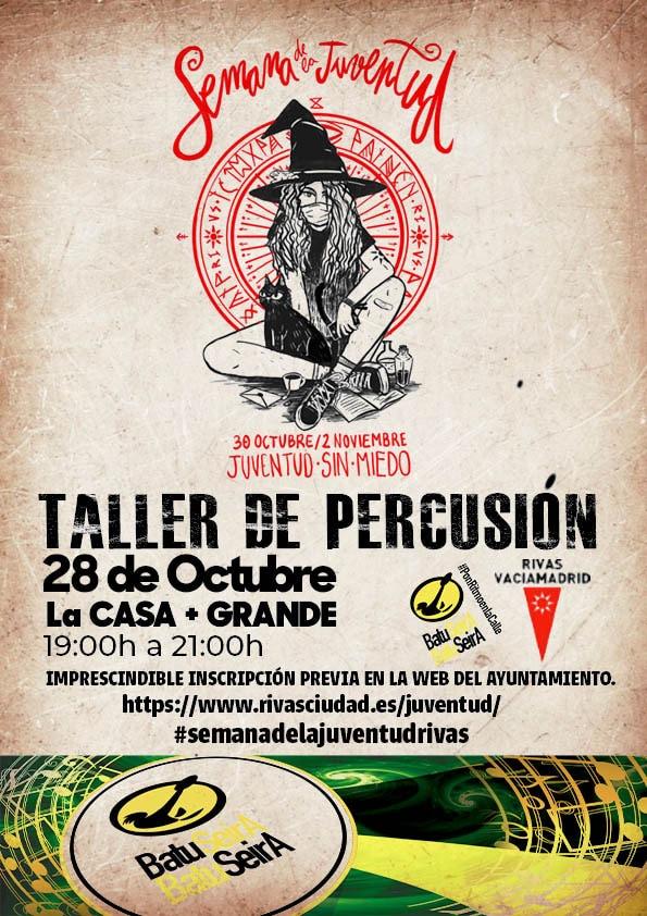 taller percusión Batuseira
