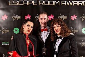 Abduction en los Escape Room Awards